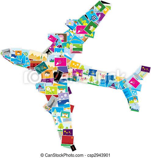 airplane - csp2943901