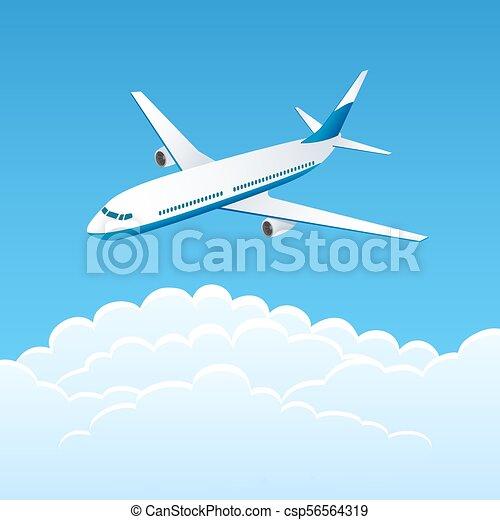 Airplane - csp56564319