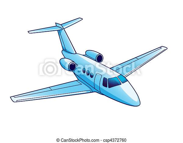 Airplane - csp4372760