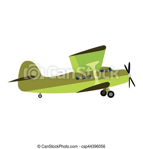 Airplane vector illustration. - csp44396056