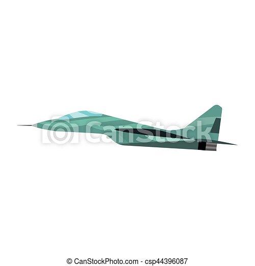 Airplane vector illustration. - csp44396087