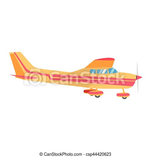 Airplane vector illustration. - csp44420623