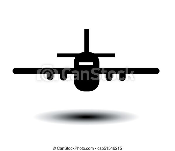 Airplane vector illustration - csp51546215