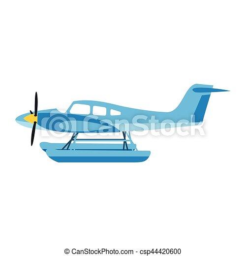 Airplane vector illustration. - csp44420600