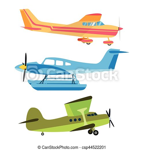 Airplane vector illustration. - csp44522201