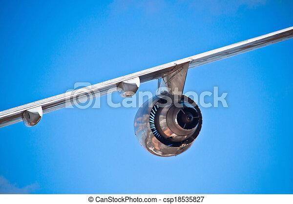 Airplane wing - csp18535827