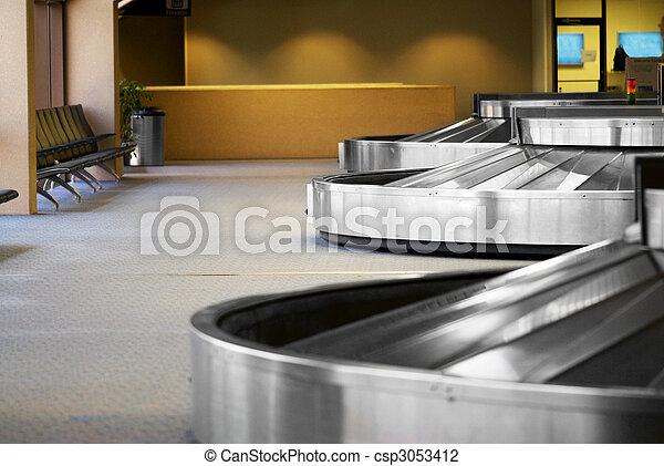 Airport Baggage Terminal - csp3053412