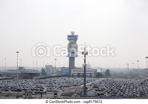 Airport car parking - csp8175612