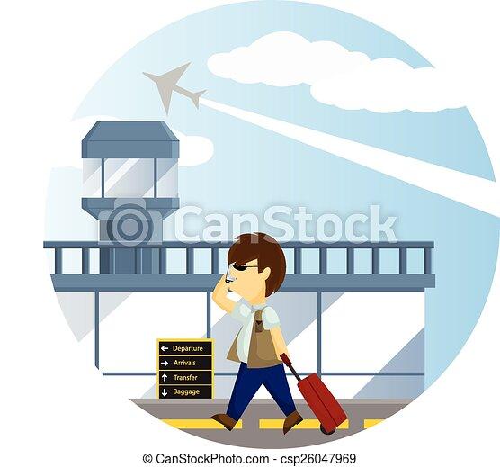 Airport - csp26047969