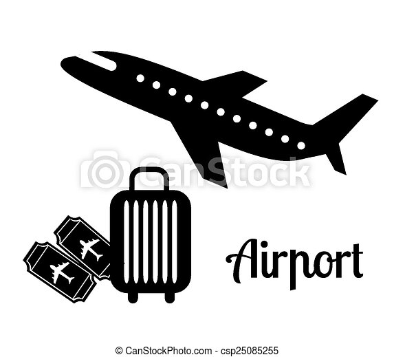 airport icons  - csp25085255