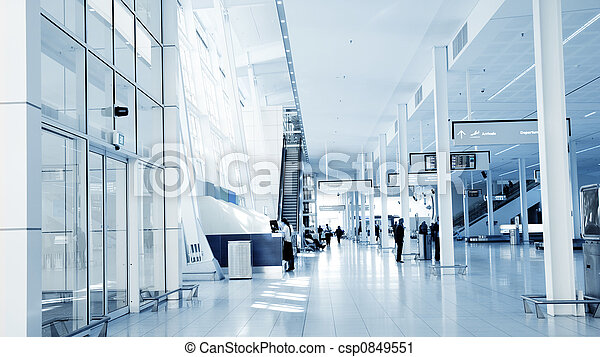 Airport Interior - csp0849551