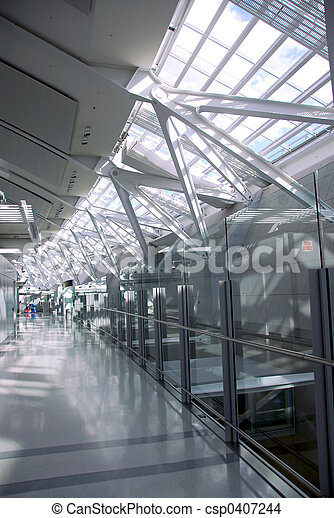 Airport interior - csp0407244