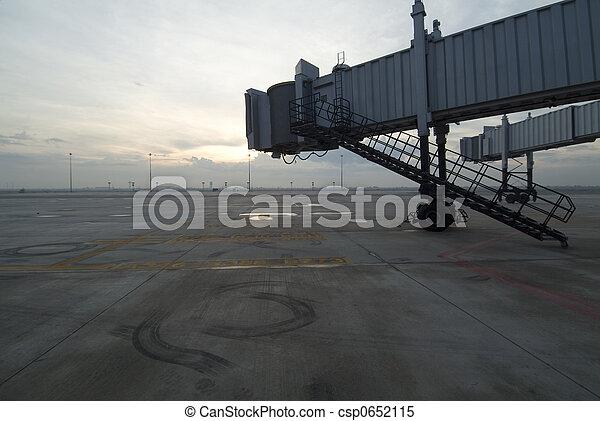 Airport Jetway Bridges - csp0652115