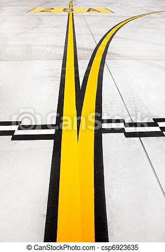 Airport lines - csp6923635