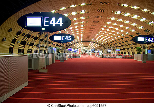 Airport lounge - csp6091857