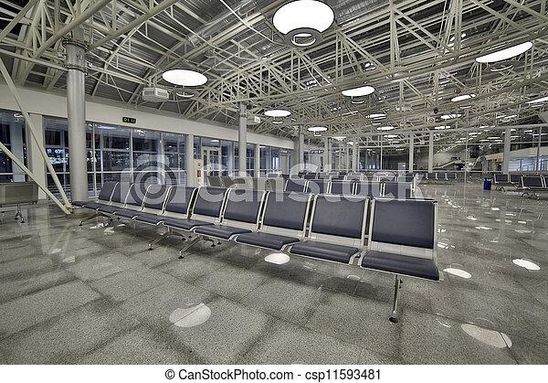 Airport lounge - csp11593481