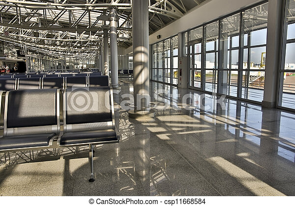 Airport lounge - csp11668584