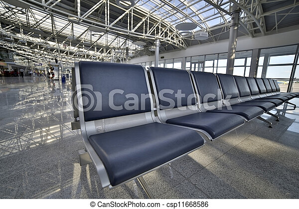 Airport lounge - csp11668586