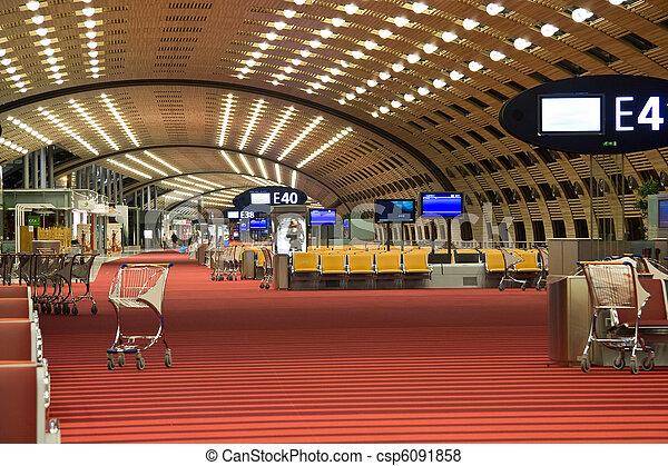 Airport lounge - csp6091858