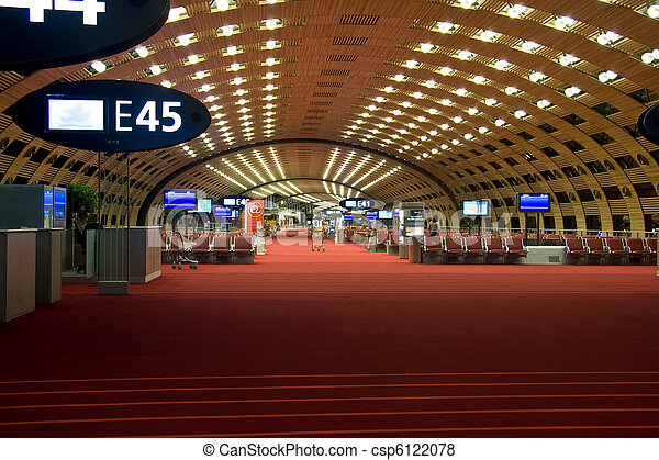 Airport lounge - csp6122078