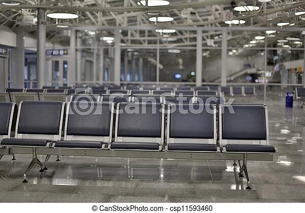 Airport lounge - csp11593460