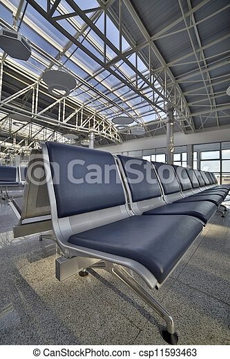 Airport lounge - csp11593463