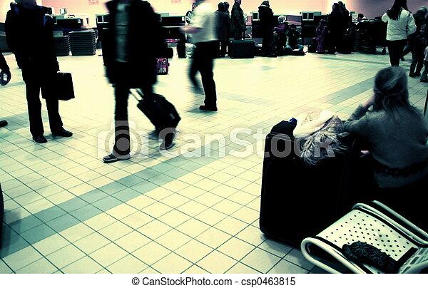 Airport lounge - csp0463815