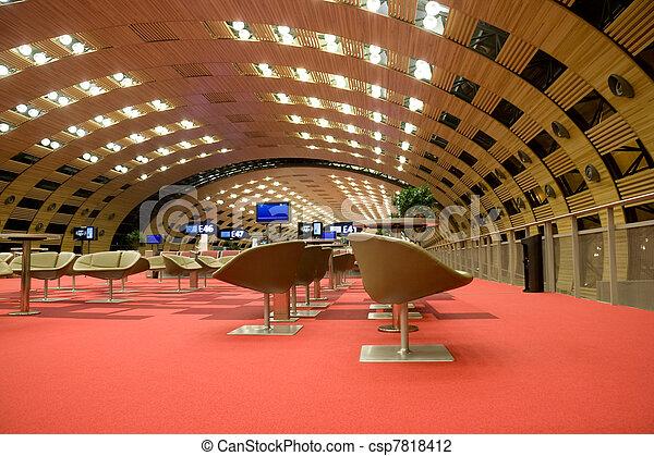 Airport lounge - csp7818412