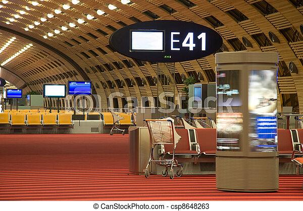 Airport lounge - csp8648263