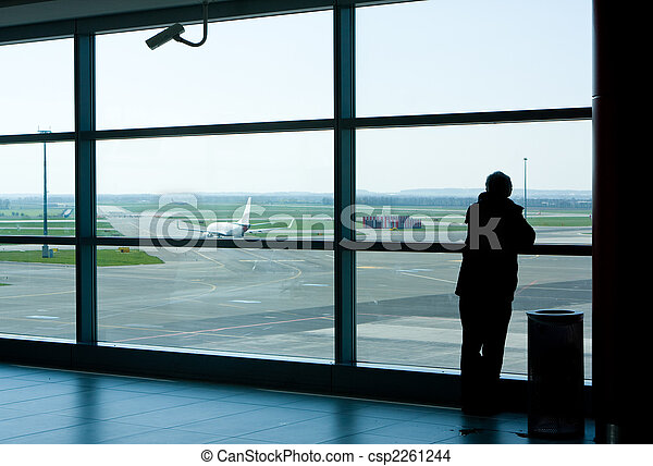 Airport lounge waiting area - csp2261244