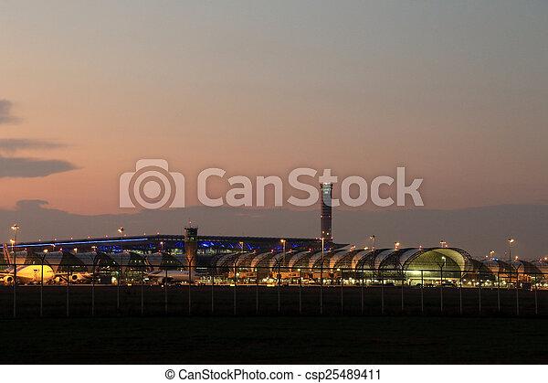 airport - csp25489411