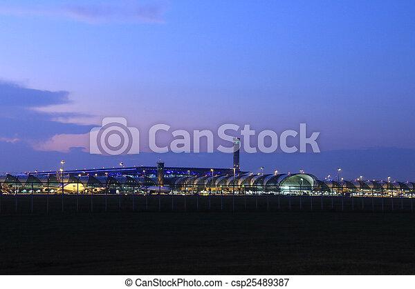 airport - csp25489387