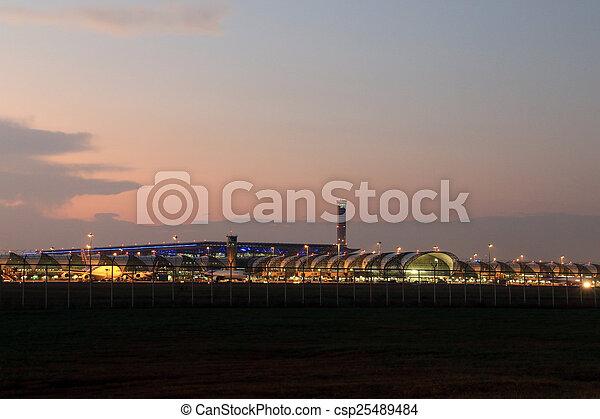 airport - csp25489484