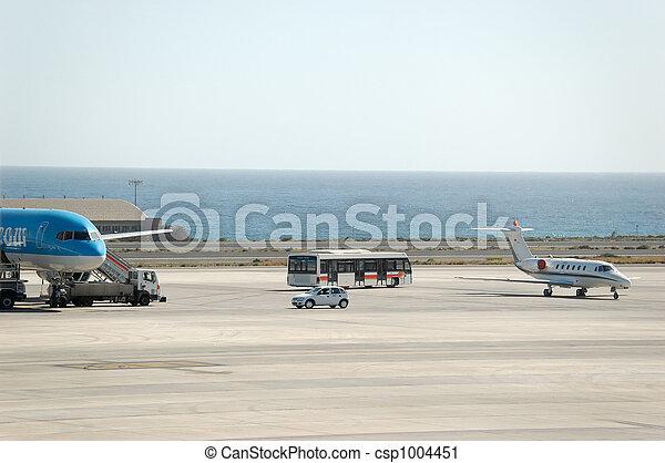 Airport Ramp at GC - csp1004451