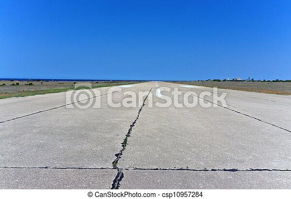 Airport Runway - csp10957284