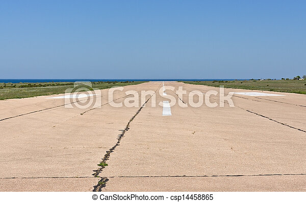 Airport Runway - csp14458865