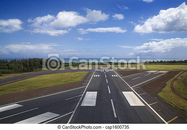 Airport runway. - csp1600735