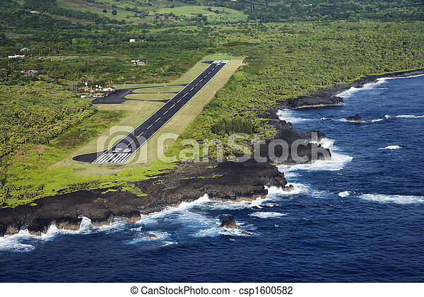 Airport runway. - csp1600582