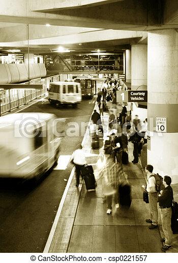 Airport rush - csp0221557