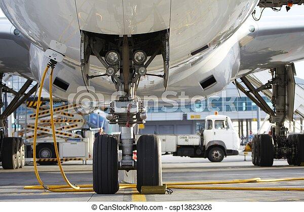 Airport - csp13823026