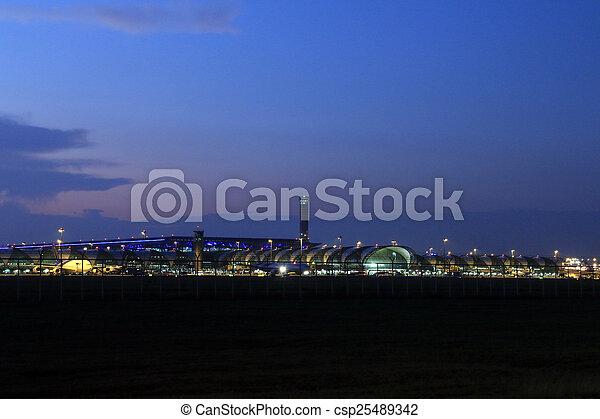 airport - csp25489342