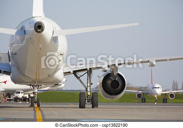 Airport - csp13822190