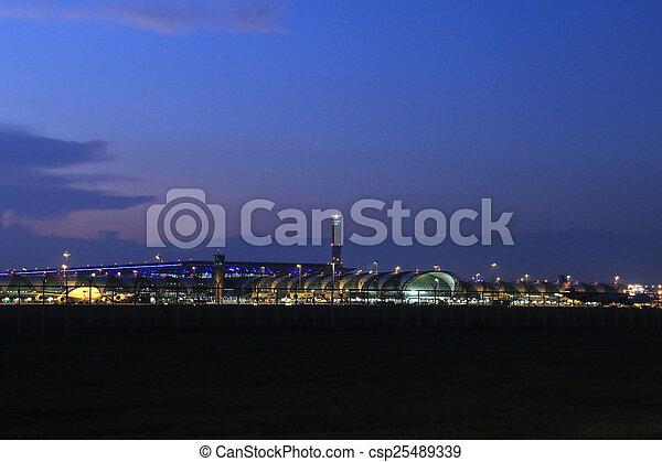 airport - csp25489339