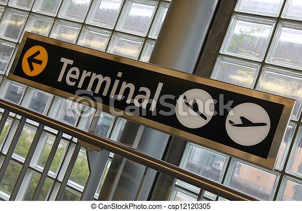 Airport Terminal - csp12120305