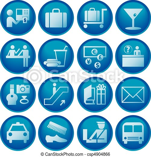 Airport / Travel Icons - csp4904866