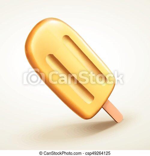 polo amarillo aislado - csp49264125