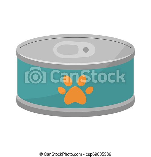 El atún puede aislar el icono - csp69005386