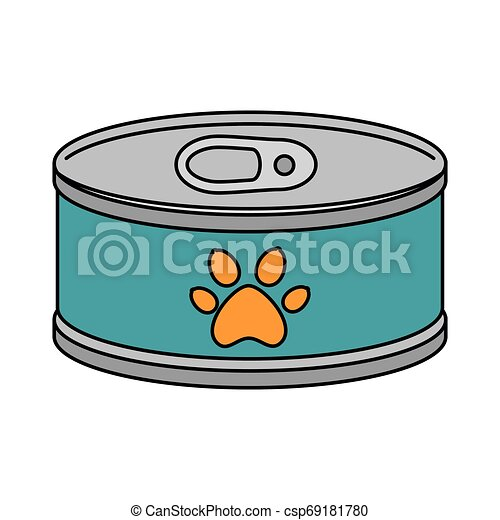 El atún puede aislar el icono - csp69181780