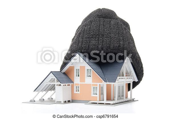 Aislamiento de la casa - csp6791654