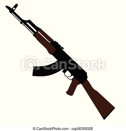 AK47 kalashnikov gun